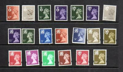(G701)  Selection  Of Gb  Machins  Regional  Unchecked All Mnh
