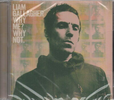 LIAM GALLAGHER - Why me? Why not. - CD album (Brand new & sealed)