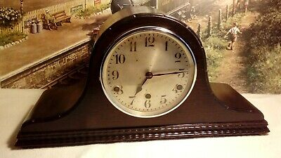 Napoleon Hat style Westminster clock in renovated serviced working condition