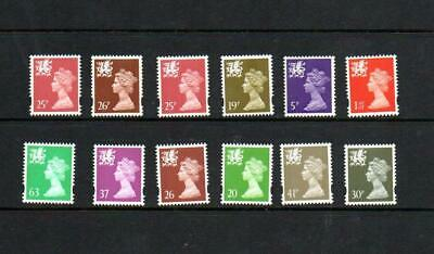 (G698)  Selection  Of Gb  Machins  Wales Unchecked All Mnh