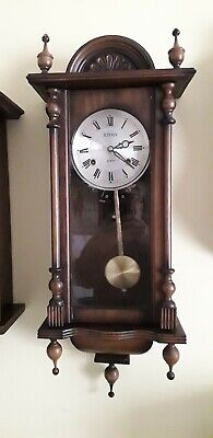 Vintage Vienna 31 Day Chiming Wall Clock Fully Working With Key