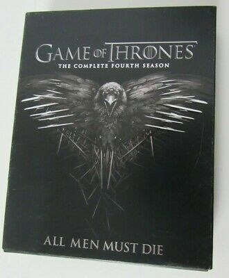 Game Of Thrones The Complete Fourth 4 Season All Men Must Die