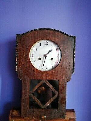 Antique Wooden Cased Wall Clock