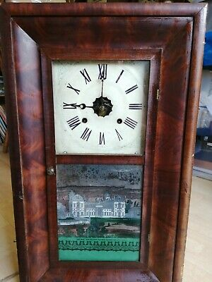 New Haven Wall Clock Lovely old clock which needs some TLC