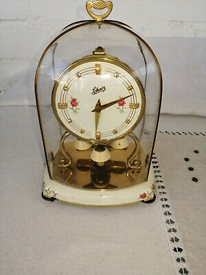 Vintage, Schatz Miniature, JUM/7 Movement Anniversary Clock. VGC and Working.