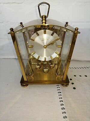 Vintage, Kern Lantern Type Anniversary Clock, Midget Movement, Working Order.