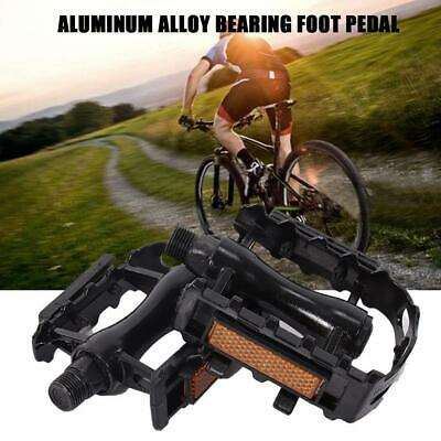 1 Pair BMX MTB Aluminium Alloy Mountain Bicycle Cycling USA Flat Pedals D3S9