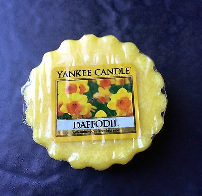 Yankee Candle DAFFODIL Wax TART Melt USA Exclusive Retired Spring Flower