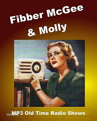 Fibber McGee and Molly ... Old Time Radio Shows on a single CD