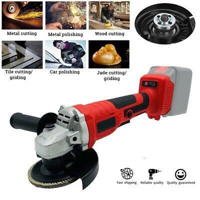 125mm/18V Electric Angle Grinder Cordless Brushless Grinding Cutting for Makita