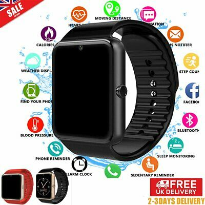 Kids Men GT08 Bluetooth Smart Watch For Android iOS iPhone Apple GSM GPRS SIM