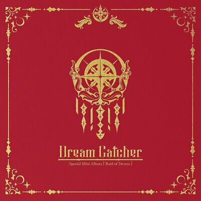 Dream Catcher Raid Of Dream Special Mini Album Limited CD Poster Tracking Number