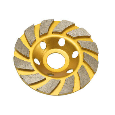 "4.5/"" Diamond Grinding Cup Wheel Double Row Concrete Angle Grinder 18 segments"