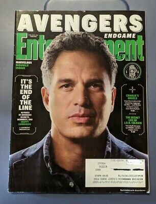 Entertainment Weekly Magazine Avengers Infinity End Game Mark Ruffalo cover 5/6