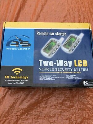 2-way LCD Remote Car Starter