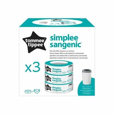 Tommee Tippee - Recharges Sangenic - Simplee - Pack x3