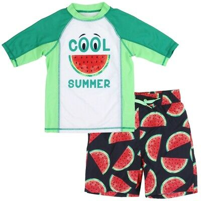 from Aeropostale Boys Jawesome Rashguard Swim Set Size 2T 3T 4T 4 5 6 7 P.S