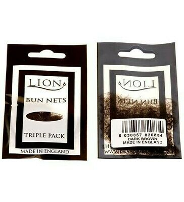 Lion Bun Nets Blonde x30 Ten Triple Packs Ballet,Dance,Gym,Horseriding