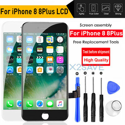 For iPhone 8 8Plus Front LCD Display Assembly Touch Screen Replacement Digitizer