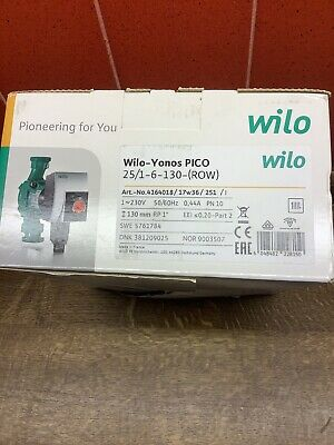 Compatible with Underfloor Heating and Manifolds A-Rated Wilo Yonos PICO Pump