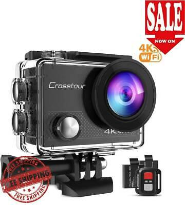 4K Sport Camera Ultra 20MP Wireless Waterproof Remote Control Go Pro Action