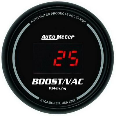 AutoMeter 6359 Boost Gauge | Express Shipping!
