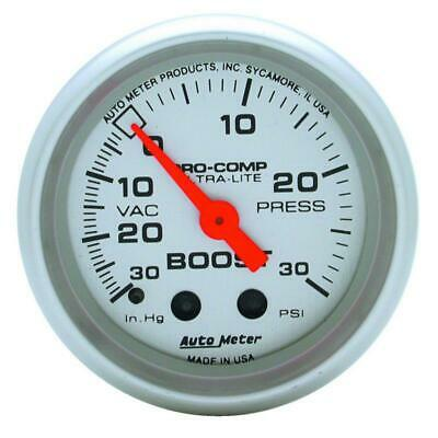 AutoMeter 4303 Boost Gauge | Express Shipping!