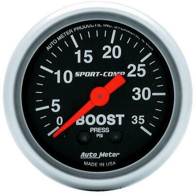 AutoMeter 3304 Boost Gauge | Express Shipping!