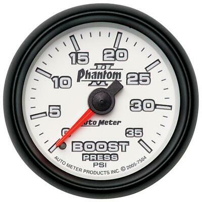 AutoMeter 7504 Boost Gauge | Express Shipping!