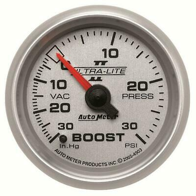 AutoMeter 4903 Boost Gauge | Express Shipping!