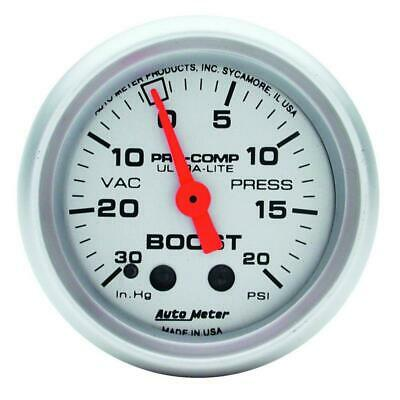 AutoMeter 4301 Boost Gauge | Express Shipping!