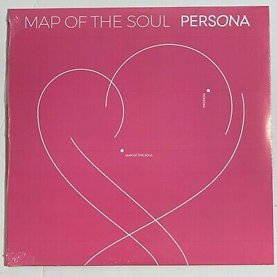 """BTS Map Of The Soul Persona 1LP Vinyl Limited Black 12"""" Record"""