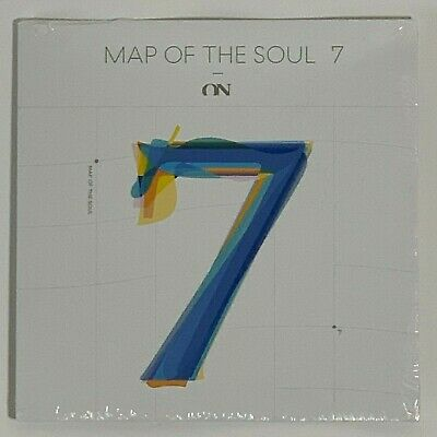 """BTS Map Of the Soul 7 On 7 Inch Vinyl Limited Black 7"""" Record"""