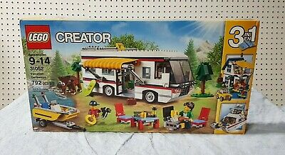 NEW SEALED 2016 LEGO Creator Vacation Getaways 3 in 1 Set #31052 Retired