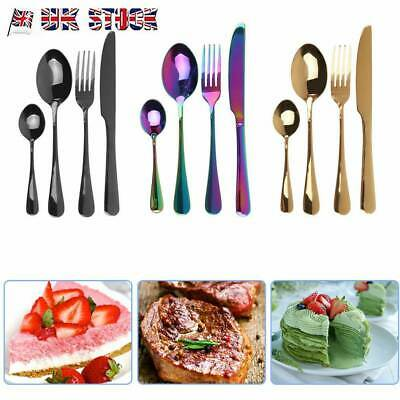 32 Piece Cutlery Set Hammered Effect Stainless Steel Brand New