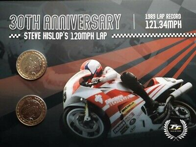 2019 Isle of Man Steve Hislop TT £2 coin set. Sealed