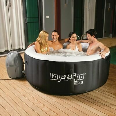 Bestway Lay-Z Spa Miami Lazy Spa Airjet Whirlpool Jacuzzi 180x66cm NEW
