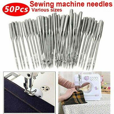 50X Sewing Machine Needles Various sizes Singer Brother Toyota Janome Universal