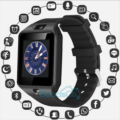 Waterproof Bluetooth Smart Watch W/Cam Phone Mate For iphone Android IOS LG HTC
