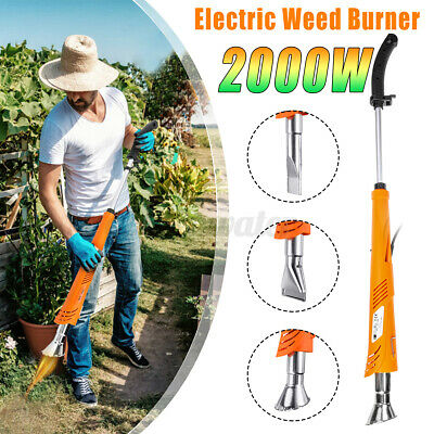 2000W Electric Weed Burner Electric Weeder Patio 650°C Working Remover Garden