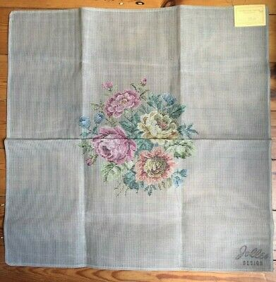Large Hand trammed Jolles floral tapestry canvas. Perfect