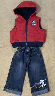 LOVELY MOTHERCARE BOYS Humphreys Corner Outfit Set Age 6 9