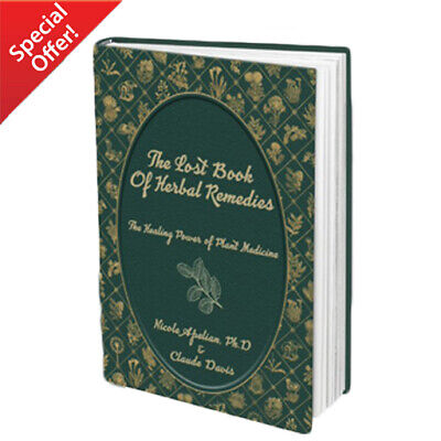 The Lost Book of Herbal Remedies (HardCover Special Edition) - Limited Offer