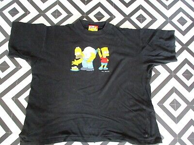 Mens 2001 Vintage Simpsons T Shirt Hipsta L Gcon Oversized Graphic