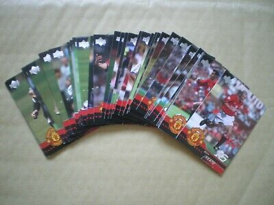 Upper Deck Manchester United Cards, 2001, Collection Of 40 Cards