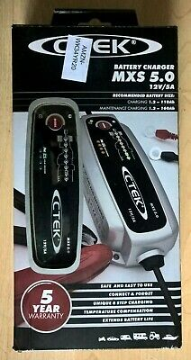 CTEK MXS 5.0 12V Automatic Battery Charger