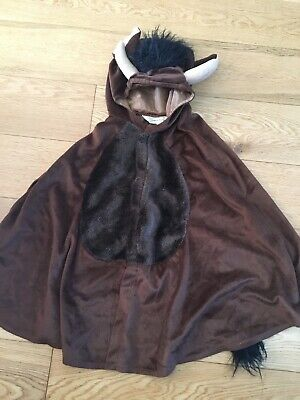 Boys Girls The Gruffalo Fancy Dress Age 4-8 - Cape Design - PLEASE SEE BACK!