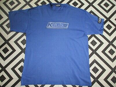 Mens 90S ? Kdub Vintage Oversized T Shirt M Spellout  Hipsta Xl Well Worn