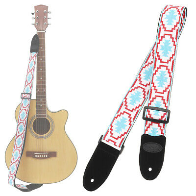 TRACOLLA CHITARRA GUITAR STRAP ANIMAL FURRY TIGER COW ZEBRA MADE IN ITALY