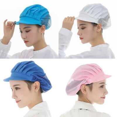 Chef Hat Kitchen Cooking Chef Cap Food Service Hair Nets Chic UK